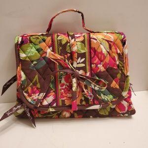 Vera Bradley Tri-Fold Jewelry/Toiletry Wrap